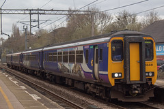 Northern 156441 (Mike McNiven) Tags: arriva railnorth northern sprinter dmu supersprinter healdgreen manchester airport manchesterairport bolton preston