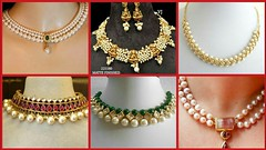 Latest Pearl Necklace Designs // Pearl Gold Jewellery //Latest Fashion Trends (The Beauty Writer) Tags: latest pearl necklace designs gold jewellery fashion trends