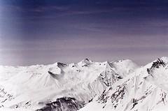 The Other Earth (Tamar Burduli) Tags: tamarburduli 35mm nature landscape film analog mountains mountainscape sky clouds skyscape winter snow purple psychedelic surreal zenit kodak georgia gudauri caucasus travel