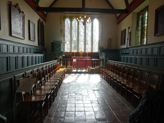 [73649] York : Merchant Adventurers' Hall Chapel - Looking East (Budby) Tags: york northyorkshire hall guild gild chapel church