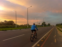 Pedal da Madrugada Grupo de Trilhas Lobo Guará, Feira de Santana, Bahia, Brasil #mtb #gtloboguara