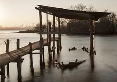 (nadiaorioliphoto) Tags: barca boat abbandoned ater