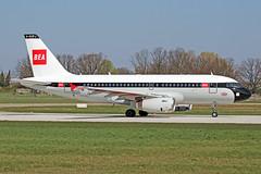 Airbus A319-131 - G-EUPJ - HAJ - 15.04.2019(4) (Matthias Schichta) Tags: haj eddv hannoverlangenhagen geupj britishairways airbus a319100 planespotting flugzeugbilder baretrojets