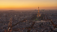 Paris Sunset (radkuch.13) Tags: europe france paris eifel montparnasse city dusk cityscape sony sonyalpha a7ii