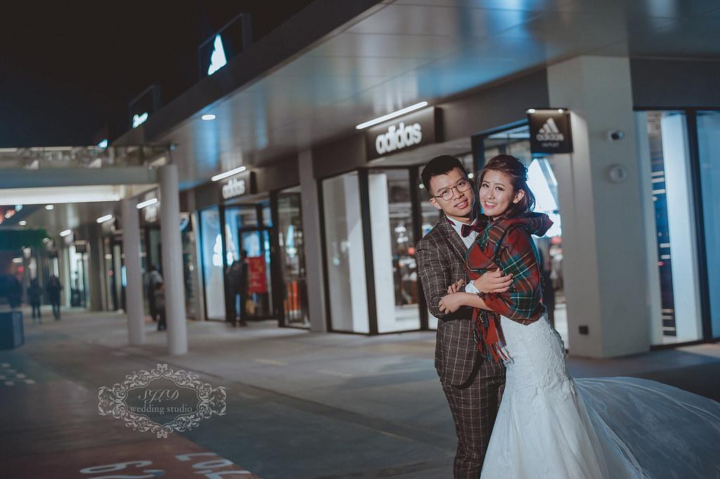 台中婚紗攝影,台中景點推薦拍婚紗,三井MITSUI OUTLET PARK婚紗,海景摩天輪