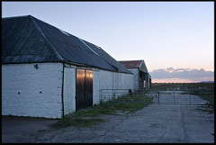 28th of October 2018 (Paul of Congleton) Tags: october 2018 rspb mersehead solwayfirth dumfriesandgalloway scotland uk barn building sunset dusk evening digital sony rx100 naturereserve