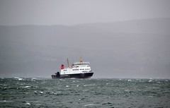 MV Bute (Zak355) Tags: rothesay isleofbute bute scotland scottish hightide storm stormy weather sea rothsay mvbute ferry calmac riverclyde ship boat vessel ferries