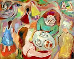J du L 20190212 (danielborisheifetz) Tags: art oil oilpainting painting female