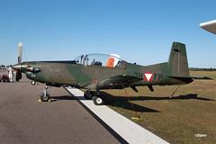 170408_111_SnF_Pilatus (AgentADQ) Tags: sun n fun flyin expo air show airshow airplane plane aviation 2017 lakeland florida pilatus pc7 turbo trainer 3hfp austrian af
