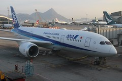 ANA (So Cal Metro) Tags: airline airliner airplane aircraft plane jet aviation airport hongkong hkg