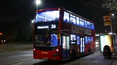 Evo North Circular (londonbusexplorer) Tags: metroline travel volvo b5lh mcv evoseti vmh2540 lf68pxs 34 walthamstow central barnet church tfl london buses