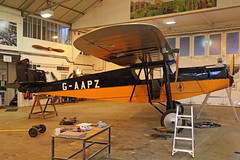 G-AAPZ Desoutter Mk1 Old Warden 16th November 2018 (michael_hibbins) Tags: uk united kingdom g british britian aeroplane aerospace aviation aircraft airplane air aero airfields airport airports plane planes prop props private propeller propellers civil commercial gaapz desoutter mk1 old warden 16th november 2018