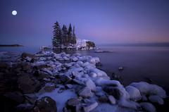 Spring Passes (karenhunnicutt) Tags: winter coldpolarvortex tombolo lakesuperior northshore hovland minnesota karenhunnicuttphotographycom