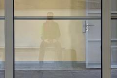 Bellinzona Blues (Toni_V) Tags: iphoneography xr iphone selfie reflections bellinzona wartehäuschen bahnhof station stazione sbb cff ffs me switzerland schweiz suisse svizzera svizra europe ticino tessin 2019 190223