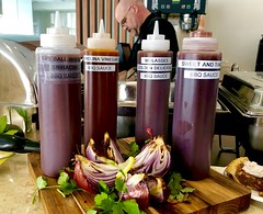 (cafe_services_inc) Tags: sauces bbq bbqsauce cafeservices corporatedining guestchef citypoint chefpaul