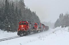 03-01-2019 Blind curve (Missabefan) Tags: dmir cn canadiannational sd403 tunnelmotor