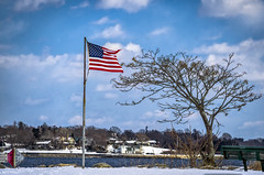 FLAG SHARPEN AI hdr (jorgecollins@att.net) Tags: 2018 autumn conimicutrhodeisland narragansett october rhodeisland usa