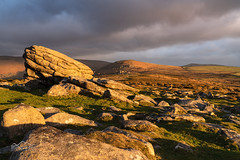Primus (http://www.richardfoxphotography.com) Tags: toptor bonehillrocks sidelight sunrise granite tor sky clouds stormy outside devonlandscape dartmoornationalpark dartmoorlandscape