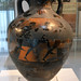 Burned Panathenaic amphora found at Isthmia, 2