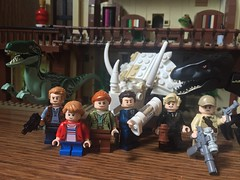 75930: Lockwood Estate (PlutoGator) Tags: lego indoraptor rampage lockwood estate manor mansion jurassic world fallen kingdom park owen grady claire dearing maisie eli mills ken wheatley gunnar eversol blue velociraptor raptor chris pratt custom purist mod