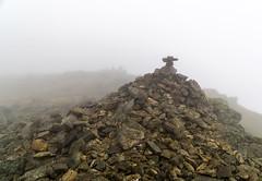 Buck Pike (l4ts) Tags: landscape cumbria lakedistrict southernfells conistonfells lowcloud buckpike summit cairn