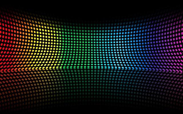 Обои разноцветный, форма, точки, поверхность, изгиб картинки на рабочий стол, фото скачать бесплатно
