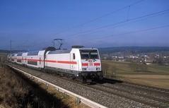 146 556  bei Eutingen  23.02.19 (w. + h. brutzer) Tags: eutingen 146 eisenbahn eisenbahnen train trains deutschland germany railway elok eloks lokomotive locomotive zug ic db webru analog nikon