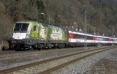 1016 023  Sulz ( Neckar )  23.02.19 (w. + h. brutzer) Tags: sulzneckar eisenbahn eisenbahnen train trains österreich austria elok eloks taurus railway lokomotive locomotive zug öbb 1016 webru analog nikon