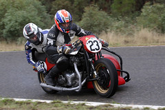 Carnell Classic (Alan McIntosh Photography) Tags: action sport speed motorsport motorcycle bike track race carnell raceway stanthorpe classic historic sidecar