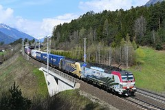 193 773 + 193 777, TEC 41851. Pusarnitz (M. Kolenig) Tags: 193 lokomotion tauernbahn baum wald berg wolken