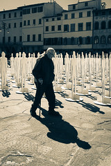 Shapes (sladkij11) Tags: streetphotography iphone bw biancoenero blackandwhite shadows ombre backlight controluce commonpeople