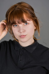 Michalina (piotr_szymanek) Tags: michanlina woman young face portrait studio eyesoncamera redhead 1k 20f 5k 10k 50f