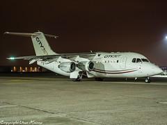 CityJet EI-RJZ HAJ at Night (U. Heinze) Tags: aircraft airlines airways airplane planespotting plane flugzeug night olympus penf 1240mm haj hannoverlangenhagenairporthaj eddv