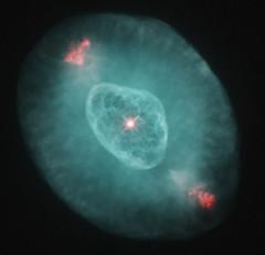 NGC 6826 - Blinking Planetary from HST (LaydeeDem) Tags: hubble myhubblepictures space astronomy nasa esa planetarynebula nebula narrowband
