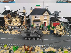 Lego Military Diorama Chieti Model Touring 2018 (15) (Parm Brick) Tags: lego afol bricks chieti model touring 2018 military army tanks vehicle aircraft weapons custom