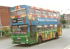 2437 (WB) NOA 437X (WMT2944) Tags: 2437 noa 437x mcw metrobus mk2 wmpte west midlands travel