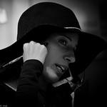 Hat, phone, clip-board. thumbnail