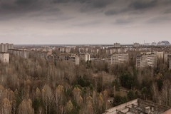 Pripyat (sj9966) Tags: pripyat chernobyl nuclear reactor rooftops autumn radiation exclusion zone ussr soviet union cccp