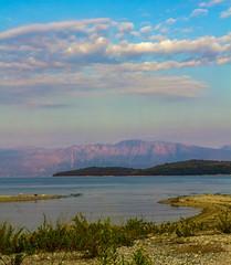 A Hellenic Sunset  - Nidri Bay - Lefkas ( Lefkada - Greece)  (Canon EOS 7D) (markdbaynham) Tags: greece greek hellas hellenic lefkas lefkada grecia greka sky view canon canonite eos 7d eos7d canon7d apsc dslr landscape ionian island greekisland greekholiday