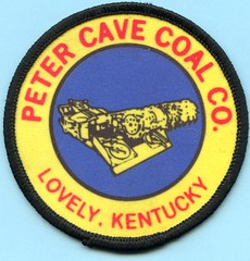 Peter Cave Coal Co. Patch (Coalminer5) Tags: coalmining coalminer coalmemorabilia coalcollectibles coalpatch continuousminer mining miningmemorabilia miningcollectible miningartifacts lovelyky lovelykentucky kentuckycoal sewonpatch clothpatch petercave
