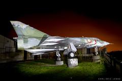 3-JM - French Air Force Mirage IIIE (Karl-Eric Lenne) Tags: 3jm beynes airfield 578 mirage iiie dassault plane glider night nightshoot