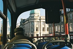 bus rides (eumycota) Tags: film photography is dead analog explore bus edinburgh