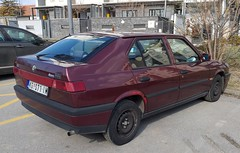 1994 Alfa Romeo 33 1.3 i.e. Feeling (FromKG) Tags: alfa romeo 33 13 ie feeling red car kragujevac serbia 2019