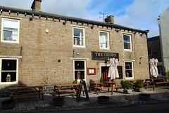 The Crown (zawtowers) Tags: hawes north yorkshire upper wensleydale dales england countryside rural market town famous cheese saturday 16th february 2019 dry sunny bright the crown place bed breakfast pub boozer