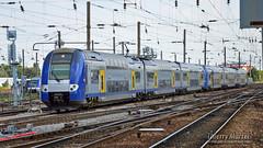 Z 24523/24 (312) + Z 24545/46 (323), Amiens - 28/08/2013 (Thierry Martel) Tags: z24500 amiens automotrice sncf