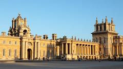 The Great Court at sunset | Blenheim Palace | Feb 2019-84 (Paul Dykes) Tags: woodstock england unitedkingdom gb uk blenheimpalace johnvanbrugh englishbaroque duke marlborough churchill