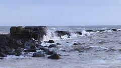Kildonan Isle of Arran (Dave Russell (1.3 million views thanks)) Tags: kildonan isle island arran clyde west western scotland coast coastal shore line shoreline water sea ocean marine maritime wave waves weather sky canon eos eos7d 7d ouitdoor rock rocks breaking surf