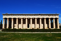 Τhe temple of Hephaestus | Ο ναός του Ηφαίστου (born to be an artist) Tags: sculpture architecture history ancient greece athens hephaestus temple