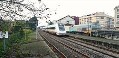 Sorpresa en Pontecesures (javivillanuevarico) Tags: renfe navidad ferrovial pontecesures galicia ferrocarril
