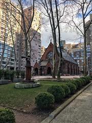Church 1 (Non-native New Yorker) Tags: church newyork rooseveltisland trees